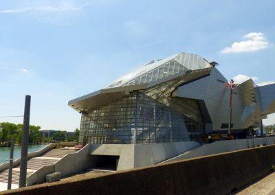 Musée des Confluences Lyon, Frankreich; DAMTEC® 3D 17/9