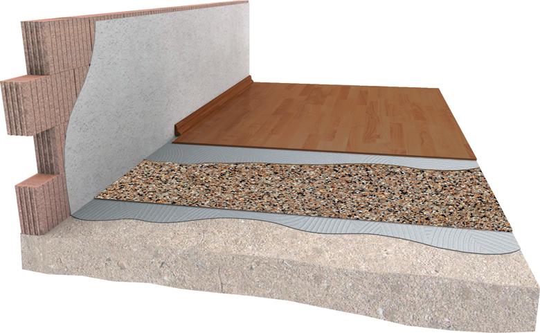 Schallschutz Unter Teppich schalldämmung unter bodenbelägen - damtec®
