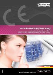 Brochure Isolation Acoustique sous-chape