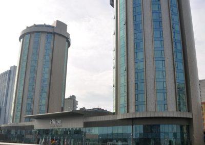Hilton Hotel Istanbul, Türkei; DAMTEC® vibra medium