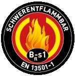Bfl-s1 schwerentflammbar