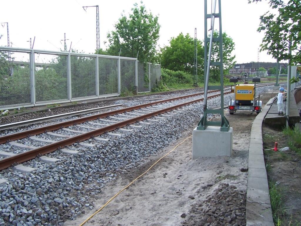 Hafenbahn Veddeler Damm - Hamburg