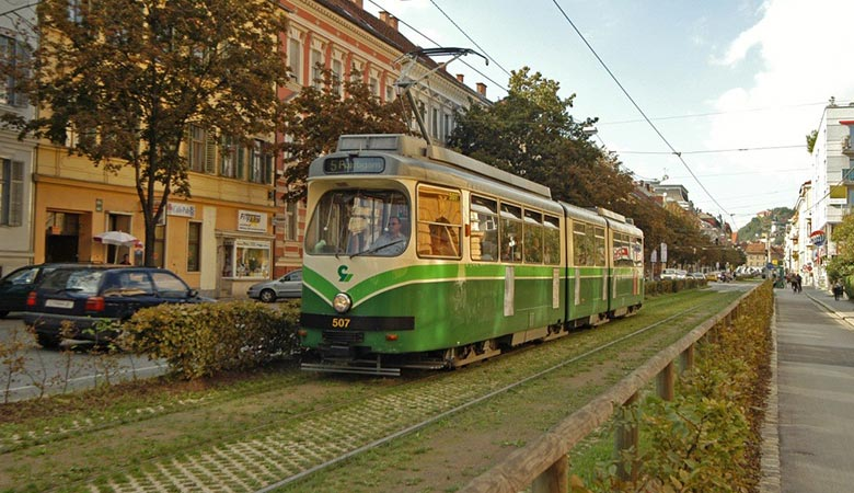 Straßenbahnlinie 4, Graz