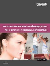 DAMTEC isolation acoustique brochure