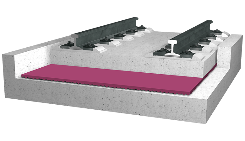 DAMTEC® MSS K Couche de surface pour systèmes masse-ressort