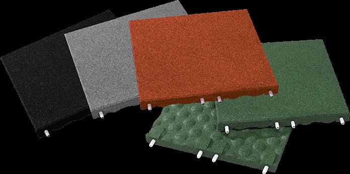 EUROFLEX Fallschutzplatte Standardfarben