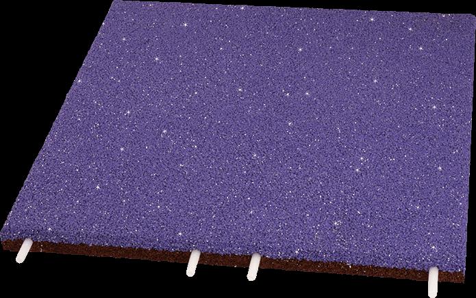 EUROFLEX Fallschutzplatte EPDM Glitter