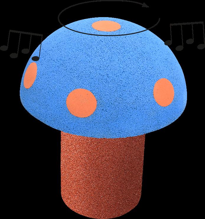 EUROFLEX Talking Mushroom