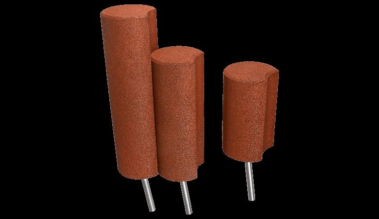 EUROFLEX rubber palisades
