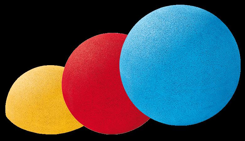 EUROFLEX kugeln halbkugeln