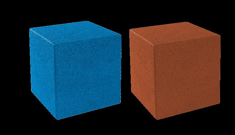 EUROFLEX cubes et cubes epdm