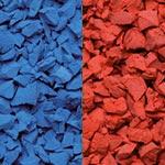 rot RAL 3017, blau RAL 5015