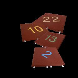 SMS Zahlenplatten