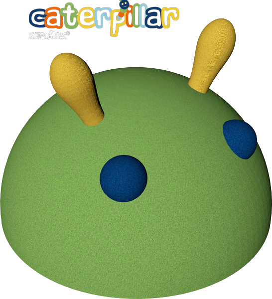 EUROFLEX® caterpillar head - every playground's highlight