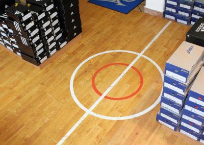 Visual System Comfort shop gym floor