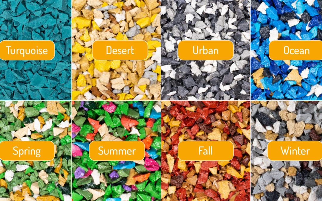 Neue EPDM-Farben und Mischungen