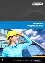 Broschüre KRAITEC Bautenschutz