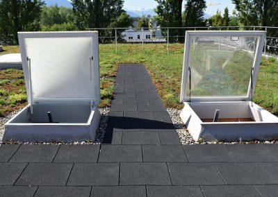 KRAITEC step Revisionsweg / Wartungsweg auf Flachdach