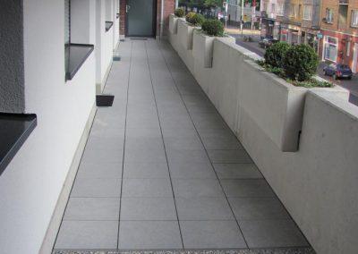 DAMTEC sonic drain plus under gravel bed and concrete slabs