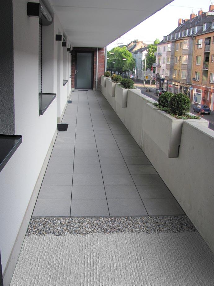 Häufig Schutzlagen für Terrassen und Balkone - KRAITEC® Bautenschutz ZZ08