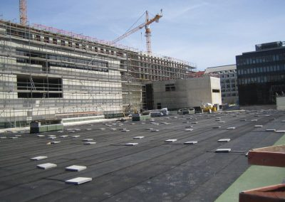 KRAITEC top structural protection on flat roofs