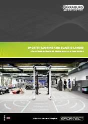 brochure SPORTEC® fitness and weight lifting