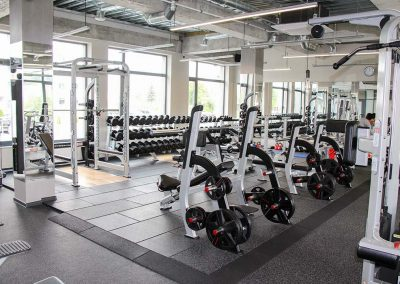 SPORTEC style for weight lifting areas - Belarus