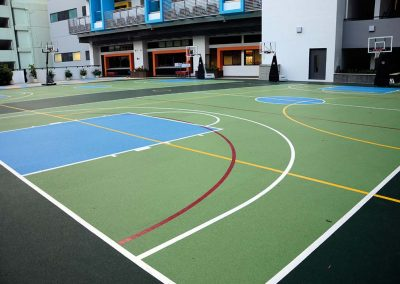 SPORTEC for multipurpose areas - SPORTEC UNI versa sandwich China