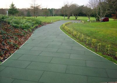 SPORTEC protection slabs for walkways - Germany