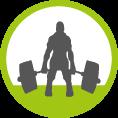 Gewichtheben Icon