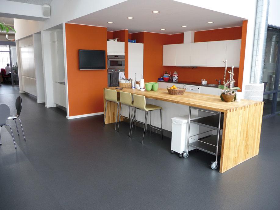 purcolor commercial flooring dark grey