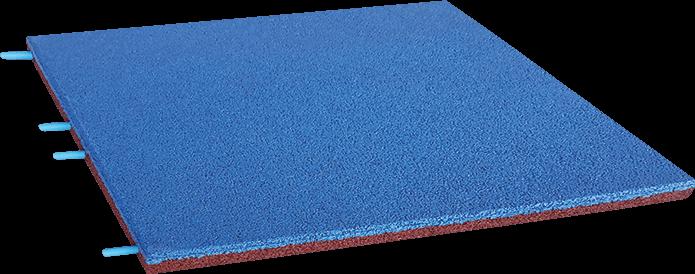 SPORTEC mountain EPDM blau