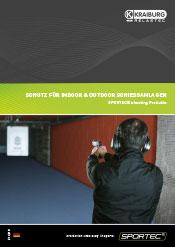 SPORTEC shooting Broschüre
