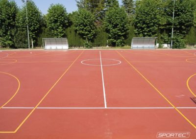 SPORTEC for multipurpose areas - SPORTEC UNI versa Spain