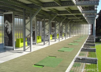 SPORTEC impact protection for walkways - Germany