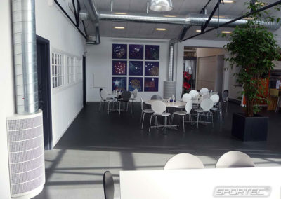 SPORTEC purcolor in office - Denmark