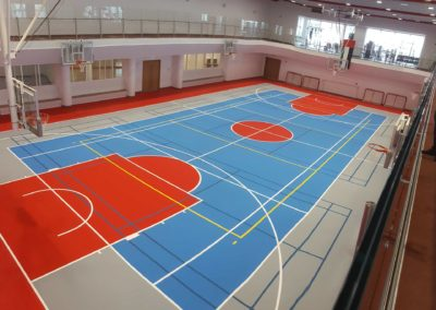 reference SPORTEC® standard sports hall