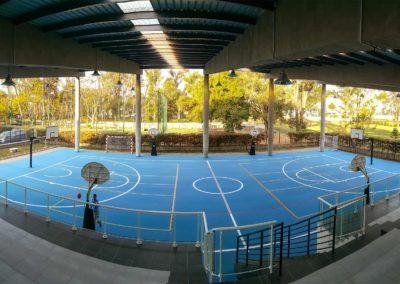 SPORTEC® UNI versa sandwich basketball court