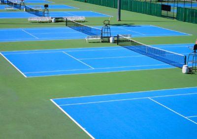 Referenz SPORTEC® UNI versa Tennisplatz