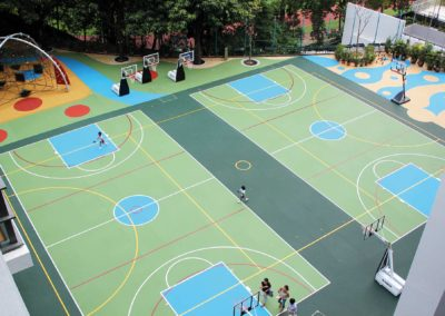 Referenz SPORTEC® UNI versa Schule Hongkong