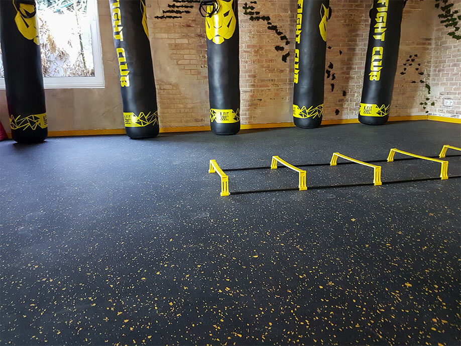 SPORTEC® giga gym flooring