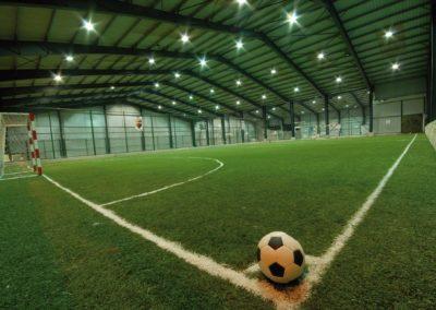 Indoor Fußballfeld