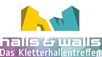 Halls & Walls Logo